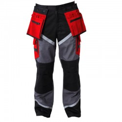 Spodnie robocze do pasa ochronne LAHTI PRO L40505