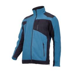 Bluza polar roboczy ze wzmocnieniami turkusowy LAHTI PRO L40114