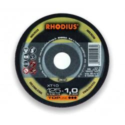 Tarcza do cięcia INOX RHODIUS XT10 125x1,0