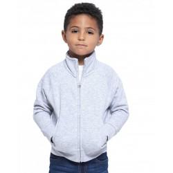 Bluza dresowa dziecięca na zamek SWRKFUZIP  JHK