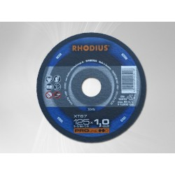 Tarcza do cięcia stali RHODIUS XT20 125x1,0