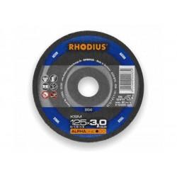 Tarcza do cięcia INOX RHODIUS XT70 125x1,0