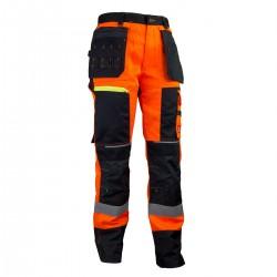 Spodnie robocze OSTRZEGAWCZE DO PASA URGENT URG_714
