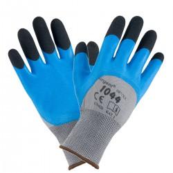 Rękawice impregnowane pokryte gumą URGENT 1044