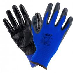 Rękawice impregnowane pokryte gumą URGENT 1047