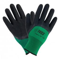 Rękawice impregnowane pokryte gumą URGENT 1053