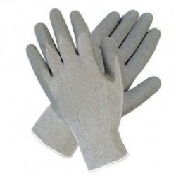 Rękawice powlekane lateksem R415 Szare/Czarne