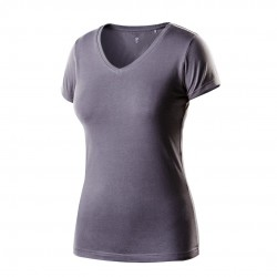 T-shirt damski ciemnoszary NEO 80-610