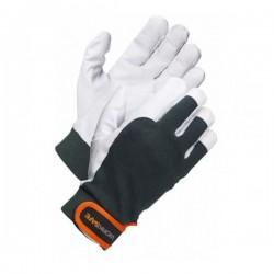 Rękawice monterskie ochronne SAVO skóra licowa