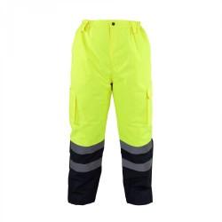 Spodnie do pasa ostrzegawcze zimowe ocieplane LAHTI PRO L41002