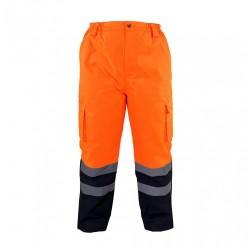 Spodnie do pasa ostrzegawcze zimowe ocieplane LAHTI PRO L41001
