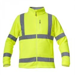 Bluza robocza polarowa ostrzegawcza żółta LAHTI PRO L40109