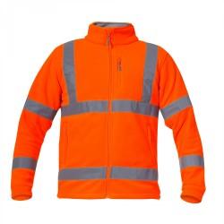 Bluza robocza polarowa ostrzegawcza pomarańczowa LAHTI PRO L40110