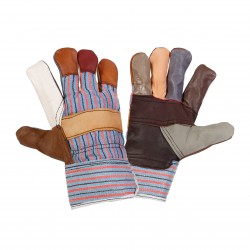 Rękawice robocze ochronne ze skóry meblowej 12 PAR Lahti Pro L2712