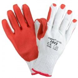 Rękawice robocze ochronne URGENT 1013 DZIANINA BRUKARZ