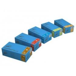 Rękawice jednorazowe diagnostyczne Comfort BLUE 100 szt